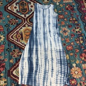 Planet Motherhood Tie-Dye Maxi Dress Large